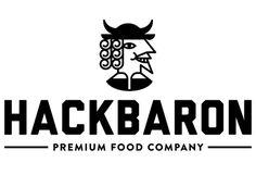 hackbaron. premium food company. #Logo #Food #Burger #Foodtruck #Brand