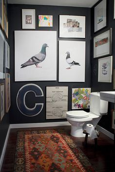 2zoe #interior #white #design #& #black #bathroom #decoration