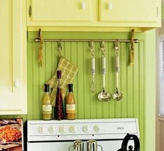 Space-Savvy Ways to Store Cooking Equipment #kitchen #home