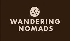 Bostock and Pollitt - design agency London - Wandering Nomads brand #logo #identity #branding