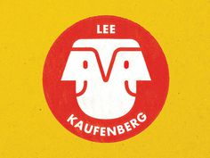 Lee / Kaufenberg Logo #faces