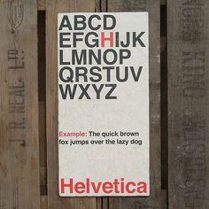 » Helvetica Flickrgraphics