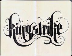 CUSTOM LOGOS — LetterCult #lettering #gothic #typography