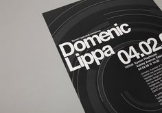 Domenic Lippa Poster by She Was Only