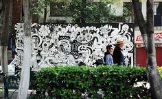 Blog   Jon Burgerman #mural