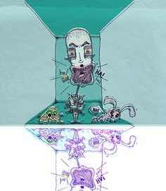 """""""Mad"""" by Molly Yllom #illustration #character #design"""