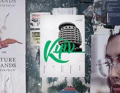 Kyiv Poster series by Maria Umiewska feat Sonya Panasyuk