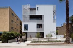 Cloverdale749 apartments by LOHA #architecture