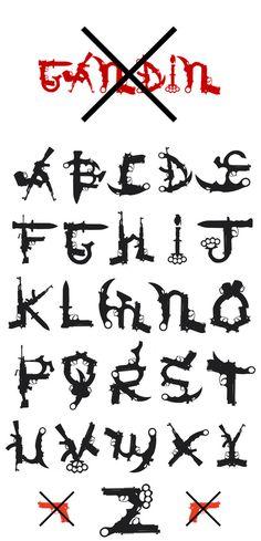 Gandin 2011 #typography