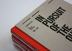 In Pursuit of the Question Mark on Behance #bind #coptic