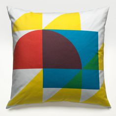 Geometry Pillow alexfuller.com #color