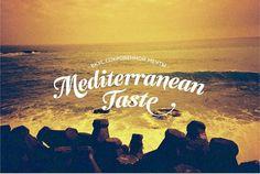 mediterrarian-taste-03.jpg 698×469 pixels #type #sea #mediterranean #logo