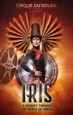 IRIS Cirque du Soleil on Behance #circus #soleil #poster #cirque #du