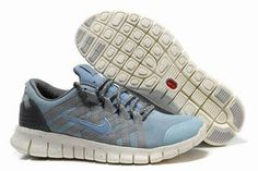 Mens Nike Free Powerlines Premium Water BlueGrey Shoes #shoes