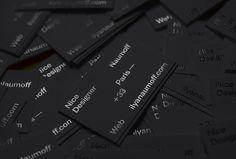 Ilya Naumoff by Ilya Naumoff #business card #graphic design #print