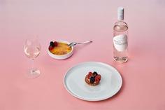 Le Rose Bleu Wine Packaging - Mindsparkle Mag Le Rose Blue represents a French premium rose wine generating awareness of the ocean's conservation. #logo #packaging #identity #branding #design #color #photography #graphic #design #gallery #blog #project #mindsparkle #mag #beautiful #portfolio #designer