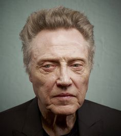 Christopher Walken 181660 flat / robyn twhomey #photography #portrait