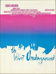 FFFFOUND! | Creative Review - The Velvet Underground: A New York Art #screen #print