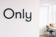 Only by Only #brand design #sign
