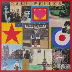 Paul Weller's Stanley Road Silkscreen Print by Sir Peter Blake Buy Online – Authenticity Guaranteed #peter #art #blake