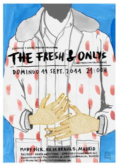 THE FRESH littleisdrawing.com #illustration #poster