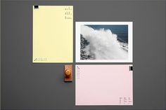 Graphic Design: Nice branding for an excellent photographer from Bureau Kayser #graphic design