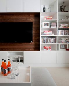 Wood media center #wood #media #tv #center