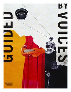 GigPosters.com Guided By Voices Détective #lure #print #design #by #screen #poster #guided #voices