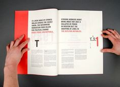 Aengus Tukel #typography #minimal #grid #layout #editorial #russian #aengus #tukel