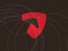 Geometric horse logo design