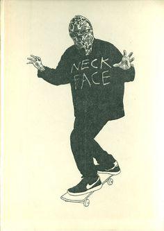 Neck Face by Albert Reyes
