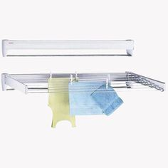 Hang your clothes to dry, then retract to save space. #design #product #modern #lifestyle
