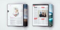 Surfing Magazine Editorial 2012 - Joy Stain #surf #surfing #print #layout #editorial #magazine #typography