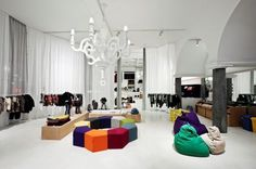Normann Copenhagen hip shop in Copenhagen. #retail #normann #shop #design #store #concept #hipshops #copenhagen