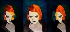 CinemaTv : Alvaro Tapia Hidalgo #bette #davis #illustration #art