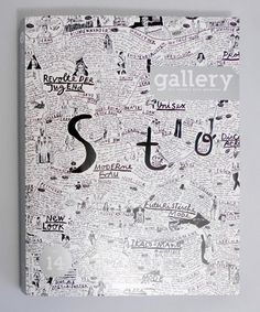 gallery.jpg (Immagine JPEG, 438x527 pixel) #lettering #white #handwriting #book #black #and