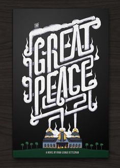 The Great Peace - The Black Harbor #black #book #poster #typography