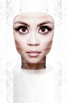 Mask on the Behance Network #mask #futuristic #cyborg #technology