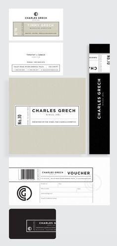 charles grech branding #elegant #branding