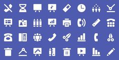 Office – Part 2 by Pixel Bazaar #pictogram #icon #sign #picto #symbol
