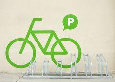 cla-se / Claret Serrahima #pictogram #viladecans #bycicle #barcelona #signage #pain #clase