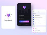 Dating App #list #color #login