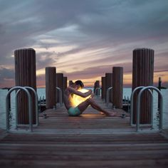 Surreal and Dreamlike Portrait Photography by James Miille