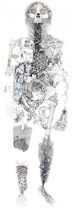 Lucy II Close Up #illustration #julia #bruderer