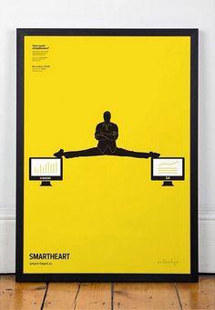 Poster SMARTHEART #smart-heartru #smartheart #social poster
