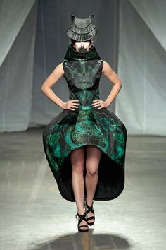 Ivana Pilja at Fashionclash 2012 #fashion