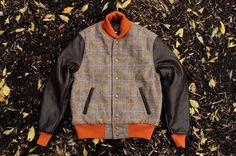 Kith NYC x Harris Tweed Outerwear Collection by Goldenbear 01 #fashion #mens #jacket