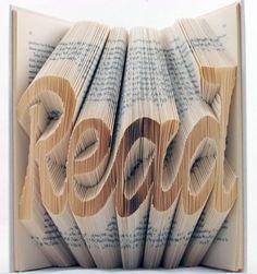 Book Art von Isaac Salazar - Kunst aus Büchern | GadgetCloud #book #art