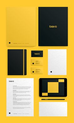 Bravo Interativa #design #gaphic #branding #stationery
