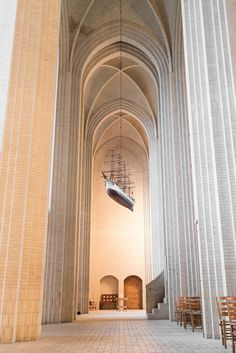 Grundtvigs Kirke - Finn Beales - Photographer #ship #cathedral